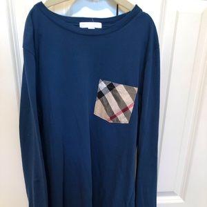 Burberry Boy's long sleeve t-shirt Mineral Blue-14